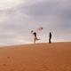 couple travel sand dune - PhotoDune Item for Sale