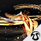 3D Golden Lines Logo 2 - VideoHive Item for Sale