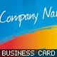 Color Splash Business Cards - GraphicRiver Item for Sale