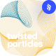 Twisted Particles Photoshop Brushes