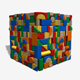 Toy Wooden Blocks Seamless Texture