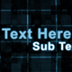 Digital Transforming Text Sequence - VideoHive Item for Sale