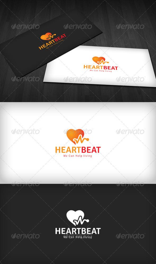Heartbeat Logo - Symbols Logo Templates
