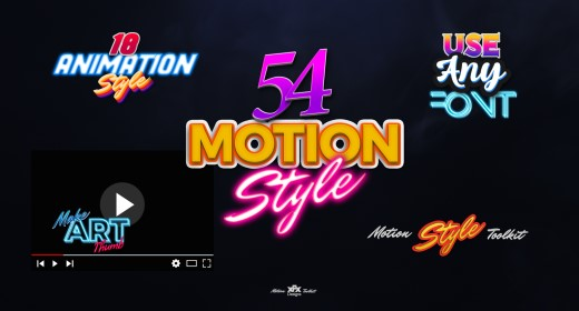Motion Styles For After Effects And Premiere Pro