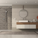 Modern bathroom with shower and washbasin - PhotoDune Item for Sale