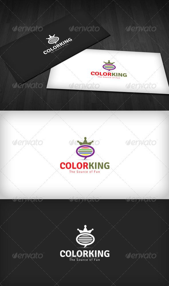 Color King Logo - Vector Abstract