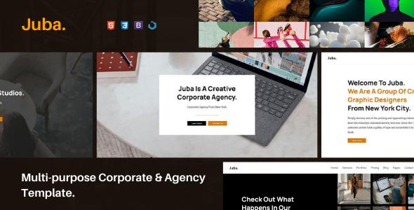 Juba — Multi-Purpose Corporate & Agency Template