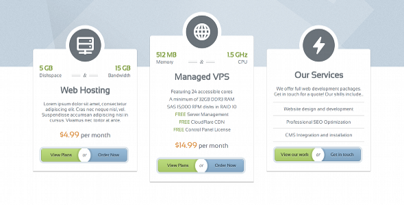 GlassHost - Premium Web Hosting Template by scripteers | ThemeForest