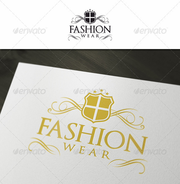 Fashion Wear - Elegant Crest - Crests Logo Templates