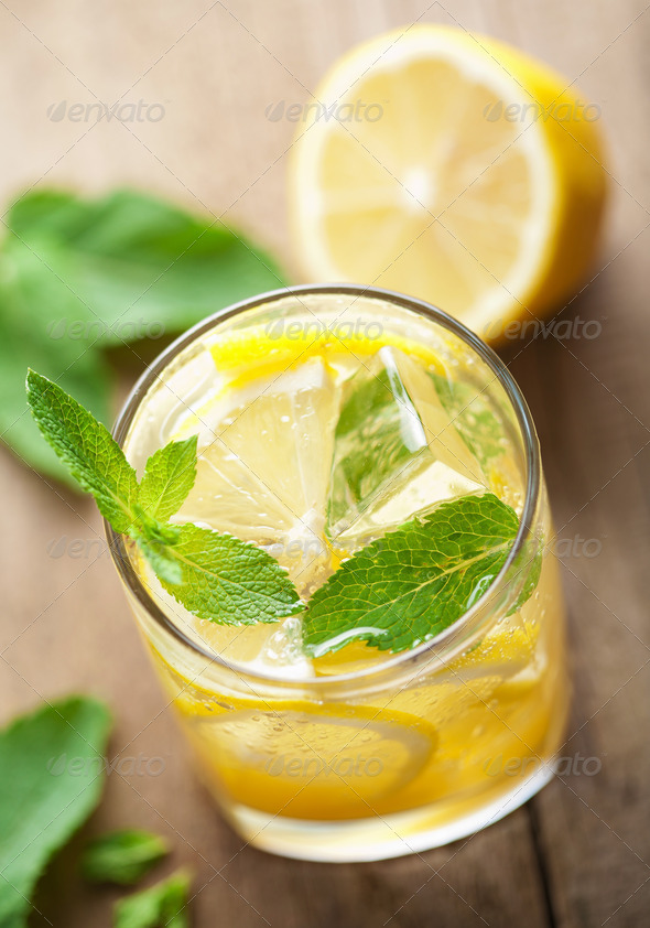 fresh lemonade - Stock Photo - Images