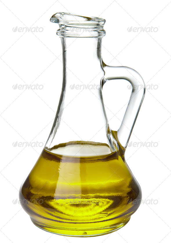 olive oil isolated - Stock Photo - Images