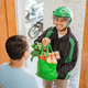 male courier delivering grocery to customer - PhotoDune Item for Sale