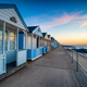 Beach huts on the promenade at Southwold - PhotoDune Item for Sale