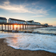 A beautiful sunrise over the pretty pier at Southwold - PhotoDune Item for Sale