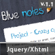 Blue notes - ThemeForest Item for Sale
