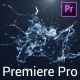 Water Splash Logo Reveal - Premiere Pro - VideoHive Item for Sale