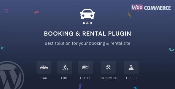 RnB - WooCommerce Booking & Rental Plugin Nulled
