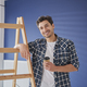 Portrait of handyman having a coffee break - PhotoDune Item for Sale
