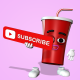 Cola Paper Cups - Youtube - VideoHive Item for Sale