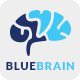 Blue Brain Logo Template