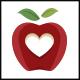 Apple Love Logo Template