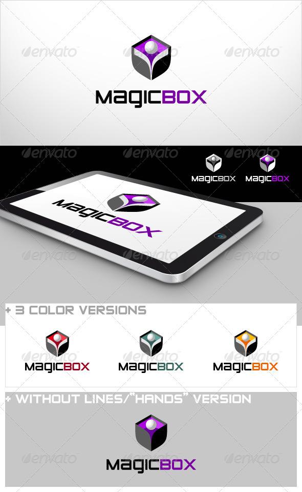 Magic Box - 3d Abstract