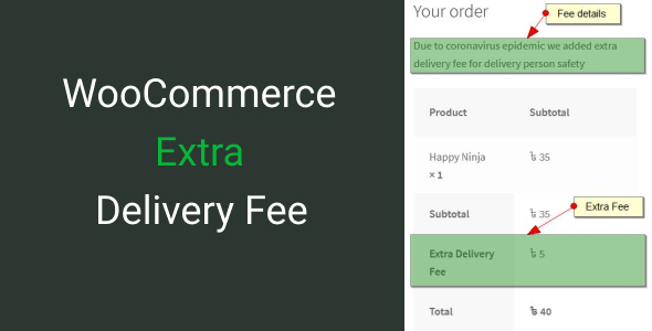 Download WooCommerce Extra Delivery Fee Free Nulled