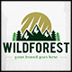 Wild Forest Logo Template