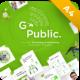 Go Public Technology Potrait Powerpoint Presentation Template Fully Animated