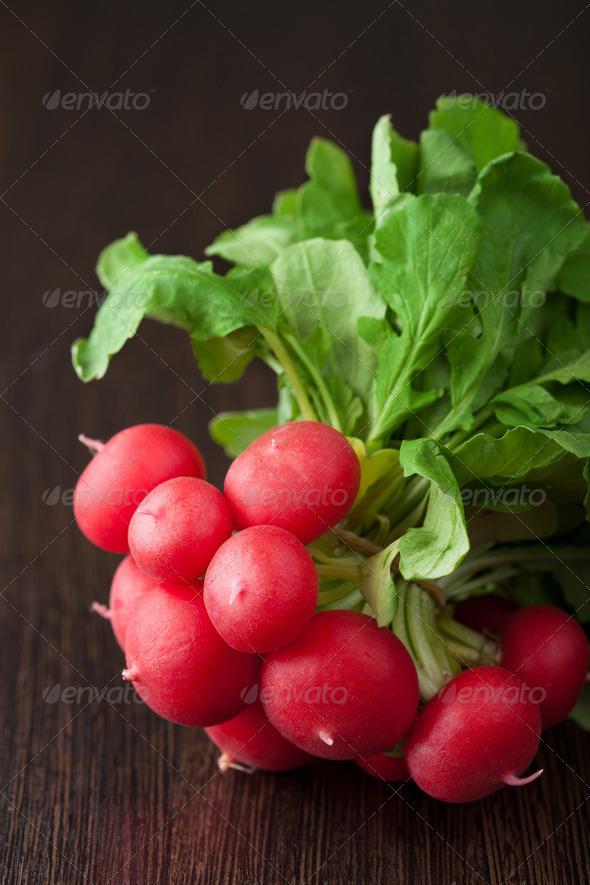 fresh radish - Stock Photo - Images