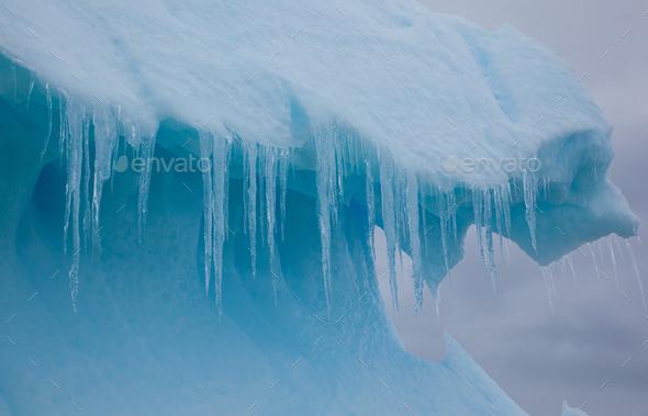 Iceberg, Antarctica - Stock Photo - Images