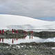 Travellers photographing the scenery and wildlife on an Antarctic island - PhotoDune Item for Sale