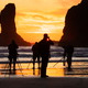 Photographers at sunset, Second Beach, Olympic National Park, Washington, USA - PhotoDune Item for Sale