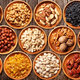 Various dried fruits and nuts - PhotoDune Item for Sale