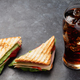 Club sandwich and cola - PhotoDune Item for Sale