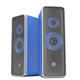 Blue stereo speakers - PhotoDune Item for Sale