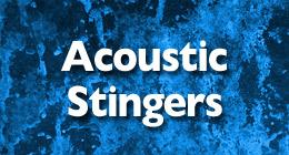Acoustic Stingers