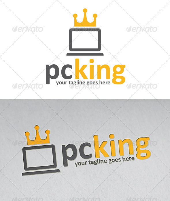 Pc King Logo - Objects Logo Templates