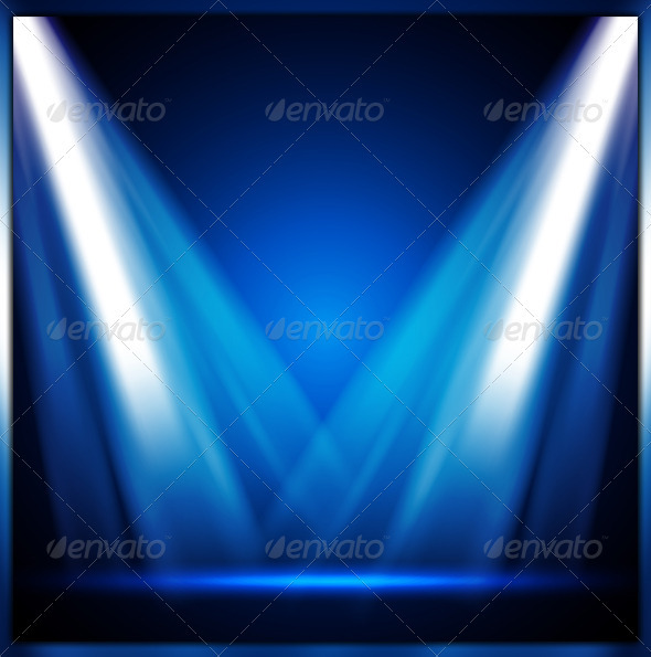 Stage Light - Objects Vectors