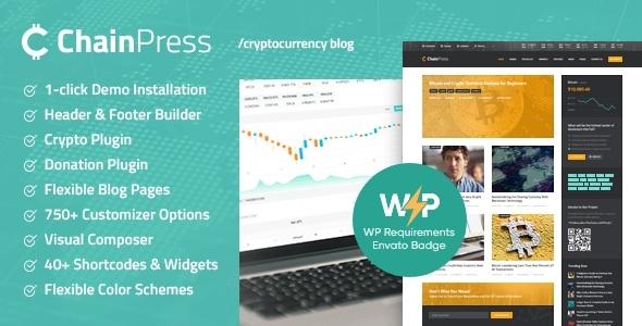 ChainPress   Financial WordPress Business Blog Theme