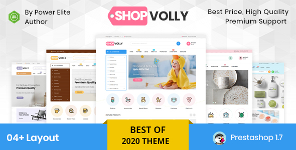 ShopVolly - Responsive Prestashop 1.7 Theme