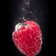 Raspberry falling into a water - PhotoDune Item for Sale