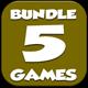 Casual 5 games - Bundle 4