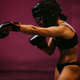 sexy female fighter training martial arts - PhotoDune Item for Sale