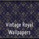 Vintage Royal Wallpapers - 7 Patterned Backgrounds - GraphicRiver Item for Sale