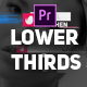 Creative Modern  Lower  Thirds - VideoHive Item for Sale