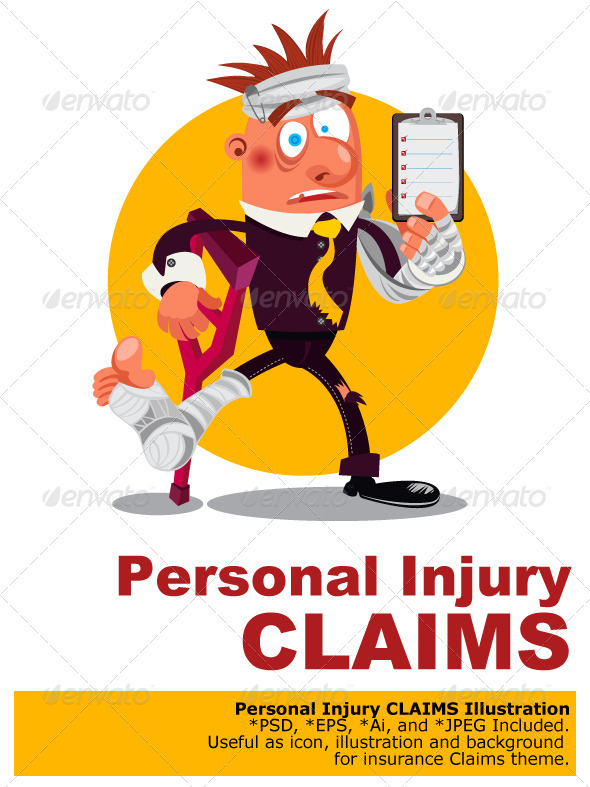 Personal Injury Claims - Health/Medicine Conceptual