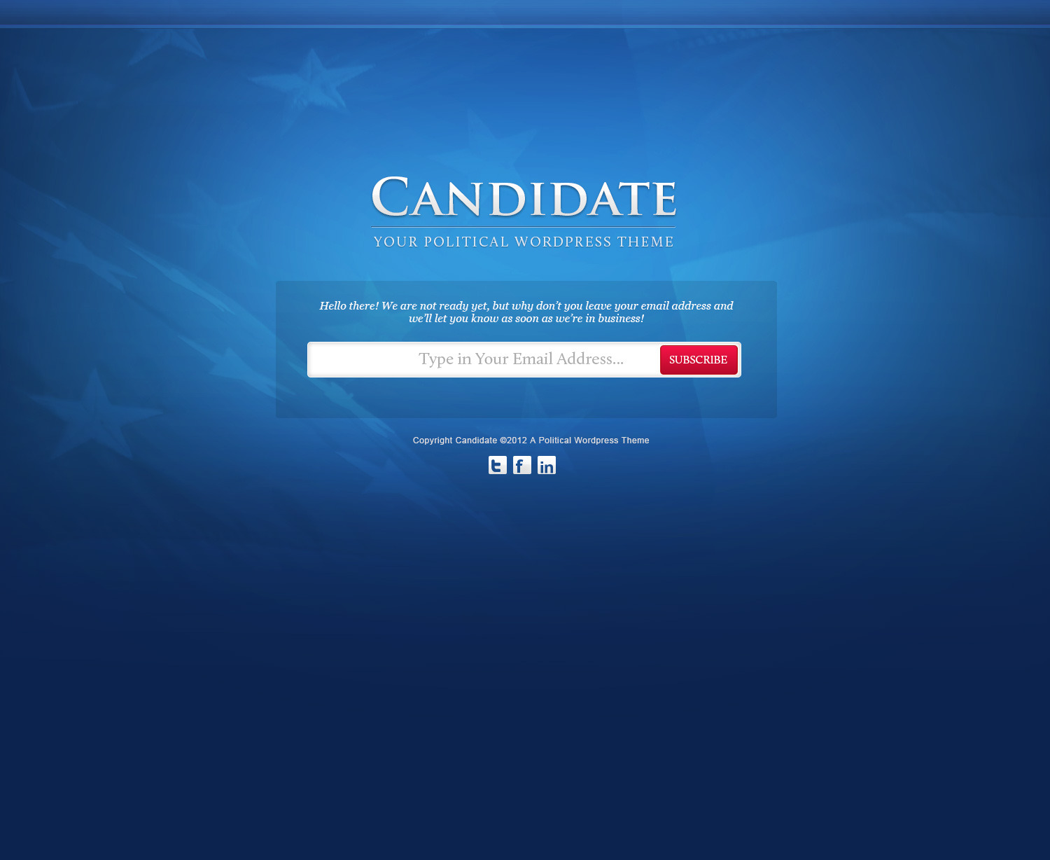 Candidate Political Psd Template By Themeblossom Themeforest