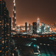Beautiful Dubai at Night - PhotoDune Item for Sale