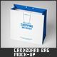 Medium Cardboard Shopping Bag Mock-Up